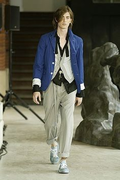 Ann Demeulemeester Spring 2006 Menswear Fashion Show