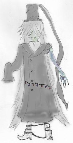 Undertaker from Kuroshitsuji! :3  I kinda like it.