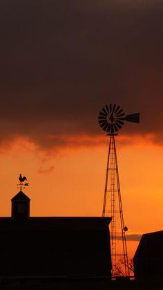 Iowa sunsets!