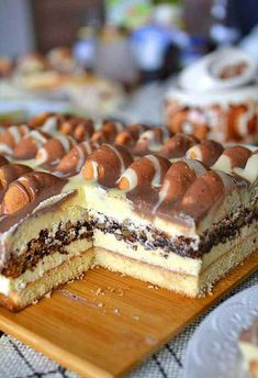 Ciasto góra lodowa - przepis na pyszny smakołyk od Mniam Mniam Tiramisu, Cheesecake, Baking, Ethnic Recipes, Food, Chocolate, Food Cakes, Cheese Cakes, Bakken