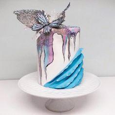 My butterfly cake by Larissa Ubartas