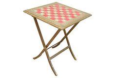 Florentine Folding Game Table on OneKingsLane.com