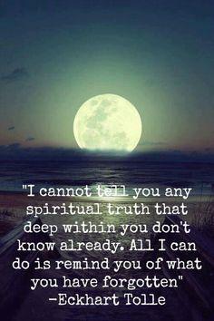 Spiritual Truth - Eckhart Tolle