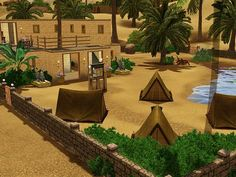Sims 3 Updates - My Sim Realty: Deluxe Base Camp by MySimRealty