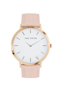 ONE WATCH. TWO STRAPS. That's two looks for the price of one. Classic styling in an ultra-thin casing. Two coloured straps to play with: both light grey and peach leather straps. Changing them over is simple. The SoHo comes with a polished rose gold case and silver indexing. It's chic and dynamic, which is SoHo at its best. Uptown meets downtown.