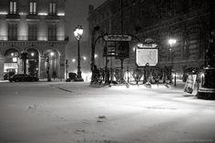 Winter 2013 Paris.
