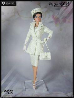 Tenue Outfit Accessoires Pour Fashion Royalty Barbie Silkstone Vintage 1236 | eBay