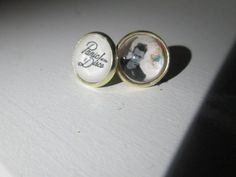 Panic at the Disco Too Weird to Live, Too Rare to Die! Post earrings on Etsy, $9.50
