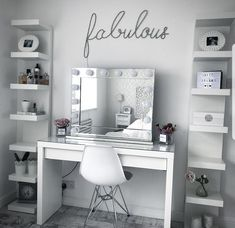 Home decor bedroom - 10 Easy DIY Makeup Vanity Ideas 10 DIY Easy Ideas Makeup Vanity decor interior DIY homedecor decoration farmhouse bedroom Bedroom Makeup Vanity, Makeup Room Decor, Diy Makeup Vanity, Vanity Room, Easy Makeup, Makeup Ideas, Makeup Vanities Ideas, Simple Makeup, Bedroom With Vanity