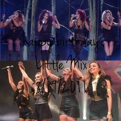 Happy birthday Little Mix ♥  #xfactor #nowandthen #august #3yearsoflittlemix #littlemix #jesynelson #jadethirlwall #leighannepinnock #perrieedwards ♥ love you girls! ♥