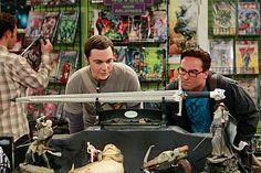 Sheldon and Leonard with Longclaw!