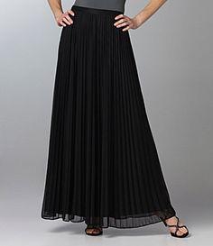 @Diane Harris I immediately thought of you. Cachet chiffon skirt at Dillard's