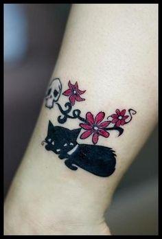 Tattoo Gato 07