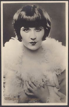 Margaret Livingston, Gorgeous Silent Film Vamp, circa 1920s