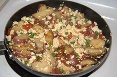 Potato and Tofu Hash Recipe |