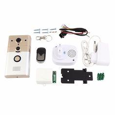 68.49$  Buy here - http://alizka.worldwells.pw/go.php?t=32777550164 - DD2 Professional Wireless Smart Doorbell 1 Mega Pixels CMOS Sensor 720P HD PIR Alarm Home Security Doorbell System Device 68.49$