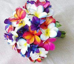 Polynesian Wedding Bouquet