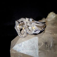#OM Symbol - Gold and Diamonds ring    Buy Now ! repin .. like .. share :)    $755.00  http://amzn.to/X7PVz6