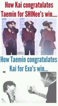 Lol Taemin and Kai