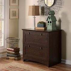 For any home or office, expanded storage and fingertip file access always come in handy. Spread out smartly by extending your Desk's surface area with this work-height Lateral File Cabinet.We are a participant in the Amazon Services LLC Associates Program, an affiliate advertising program designed to provide a means for us to earn fees by linking to Amazon.com and affiliated sites. #HomeDecor #RusticDecor #Farmhouse #OfficeDecor #Organization