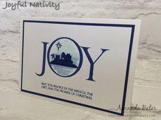 The Craft Spa - Stampin' Up! UK independent demonstrator : Watercoloured Joyful Nativity