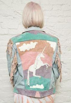 unicorn jacket!!