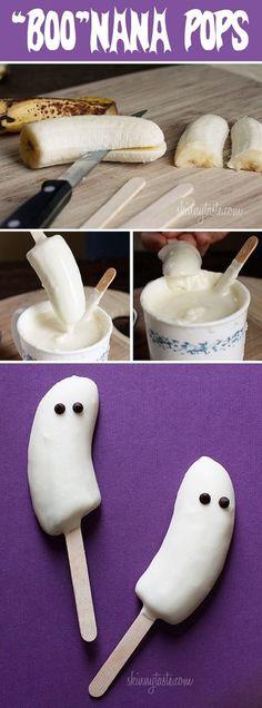 """""""BOO""""Nana Pops - Halloween treats - recipe"""