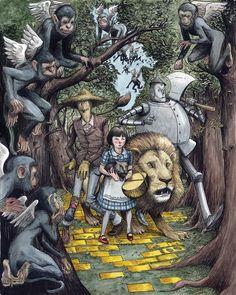 Farel Dalrymple - Wizard of OZ Comic Art
