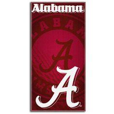 NCAA   Alabama Crimson Tide 30x60 Fiber Reactive Beach Towel