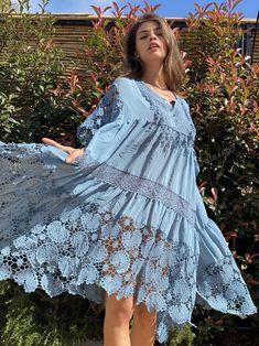 Shop - Antica Sartoria Ibiza Style, Ibiza Fashion, Cover Up, Comfy, Sewing, Natural, Dresses, Party, Headscarves