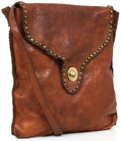 Campomaggi Shoulder Bag Leather 25 cm - C1122VL | Designer Brands :: wardow.com