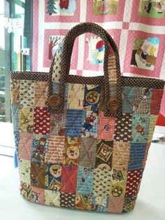acolchado # Acolchado The actual quilt – this includes a minuscule clean best plus face Quilted Tote Bags, Diy Tote Bag, Patchwork Bags, Tote Purse, Diaper Bag Backpack, Diaper Bags, Backpack Pattern, Bag Patterns To Sew, Diy Bags