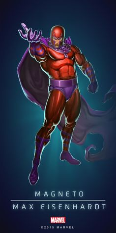 #Magneto #Fan #Art. (MAGNETO - MAX EISENHARDT - CLASSIC IN: MARVEL'S PUZZLE QUEST!) BY: AMADEUS CHO! (THE * 5 * STÅR * ÅWARD * OF: * AW YEAH, IT'S MAJOR ÅWESOMENESS!!!™) [THANK U 4 PINNING!!!<·><]<©>ÅÅÅ+(OB4E)(IT'S THE MOST ADDICTING GAME ON THE PLANET, YOU HAVE BEEN WARNED!!!)
