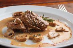 Solomillo de cerdo en salsa de champiñones. Un plato 🔟    #SolomilloDeCerdoEnSalsaDeChampiñones #SolomilloDeCerdo #RecetasDeSolomillo #RecetasDeCarne