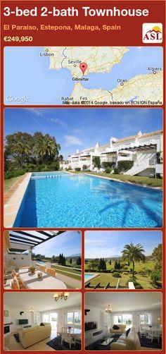 3-bed 2-bath Townhouse in El Paraiso, Estepona, Malaga, Spain ►€249,950 #PropertyForSaleInSpain