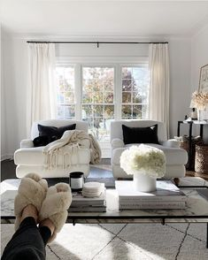 Home Decor Living Room .Home Decor Living Room Design Living Room, My Living Room, Home And Living, Living Room Decor, Front Room Decor, How To Furnish Living Room, Living Room Trends, Front Rooms, Living Room White