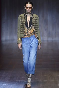 Gucci RTW Spring 2015 [Photo by Giovanni Giannoni]