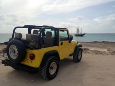 Aruba jeep ride
