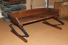 LITTLE BARN $200 Authentic Antique 1800's Carriage/ Buggy Seat