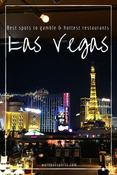 Travel guide to Las Vegas, Nevada: Sample itinerary, advice, and recommendations from real travelers. Visit Freemont Street, Omnia, Paris Eiffel Tower, Margaritaville, Venetian, Bellagio & learn about the best spots for gambling & best restaurants.
