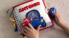 quiet book Antonio