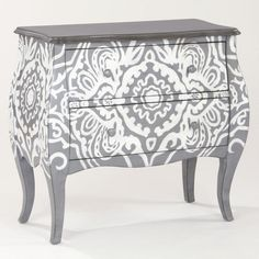 Large Sasha Hall Chest - WORLD MARKET    Love this piece!    would be so pretty in the yellow and grey guest room.