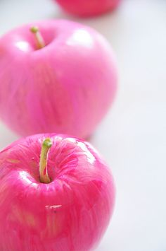 Pink Candied Apples