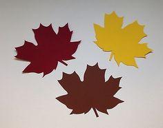 """Filigranes Fensterbild aus Tonkarton Herbst/Halloween """"Blätter"""""""