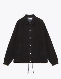 Très Bien - Coaches Jacket Moleskin Black | TRÈS BIEN