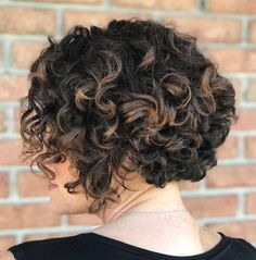 Short Bob Hairstyle For Curly Hair