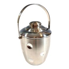 bdaf6b79be6 Waterford Marquis Stainless Steel  Circles  Ice Bucket