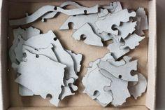 """Puzzle """"Warszawa"""" #wzory_targi"""