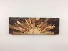 A personal favorite from my Etsy shop https://www.etsy.com/listing/452474644/wood-wall-art-oak-city-sunrise-wood-art