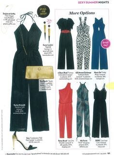XOXO Lace Cami Jumpsuit featured in the July issue of @People StyleWatch.